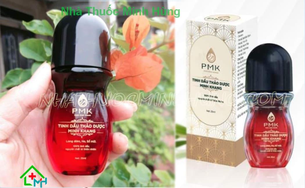 Tinh dầu thảo dược Minh Khang tốt cho trẻ sơ sinh